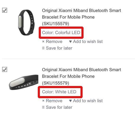 MiBand_Bestellung_Auswahl